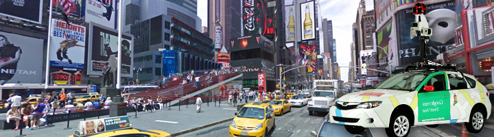 Google Street View – Bientôt à Jour !